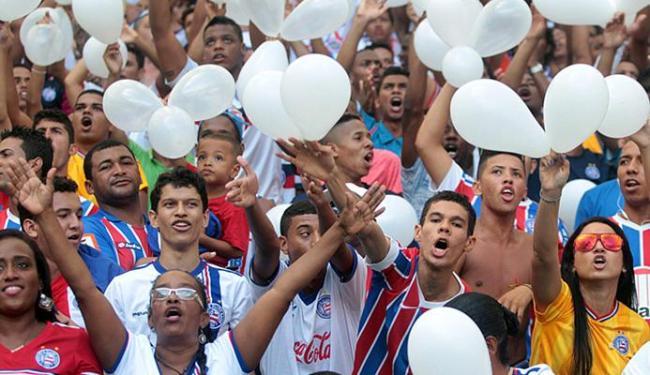 Os ingressos para Bahia e Boa Esporte começam a ser vendidos na terça, 4, apenas para sócios - Foto: Lúcio Távora | Ag. A TARDE