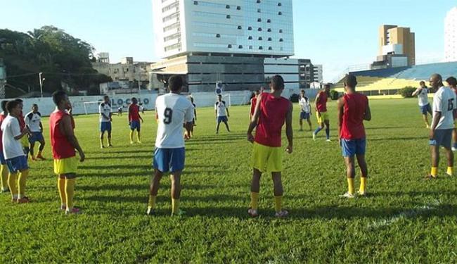 O Tigre volta a campo para enfrentar o Globo-RN, no domingo - Foto: Pablo Brandão   Ag. A TARDE