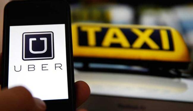 Motorista do Uber foi mantido refém por uma hora e levou um soco na boca - Foto: Divulgação