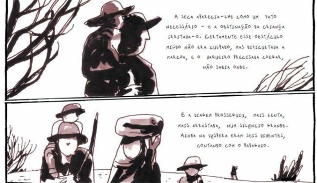 Vidas Secas foi adaptado por Arnaldo Branco (roteiro) e Eloar Guazzelli (ilustrações) - Foto: Divulgação
