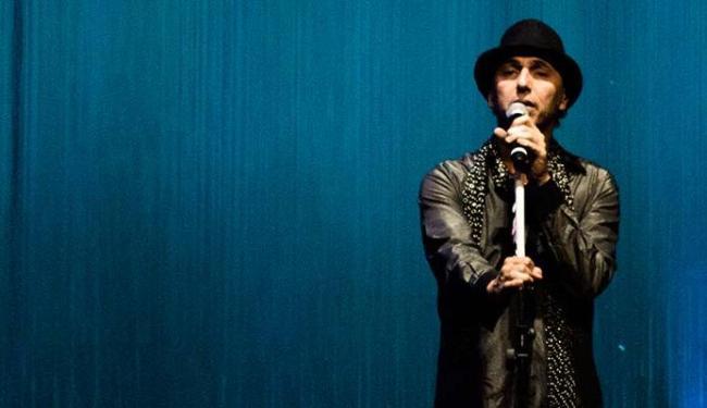 Zeca Baleiro apresentou o show do DVD no TCA, em julho - Foto: Rama de Oliveira | Divulgação