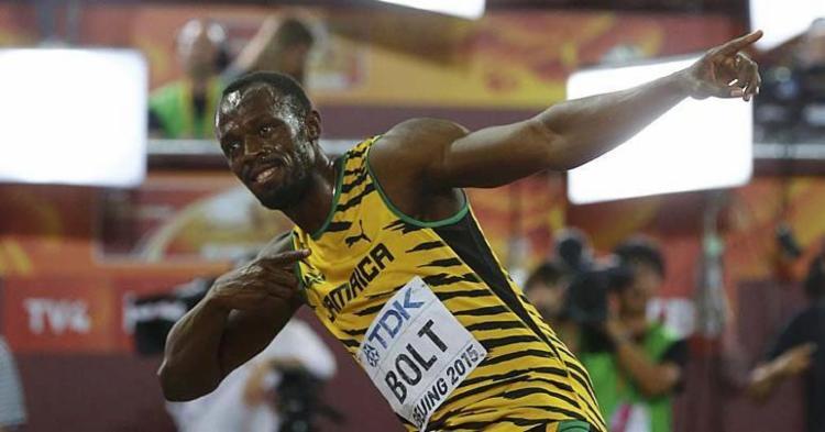 Bolt é o 8º campeão olímpico no Rio-2016 confirmado na República Checa - Foto: Kai Pfaffenbach   Reuters   23.08.2015