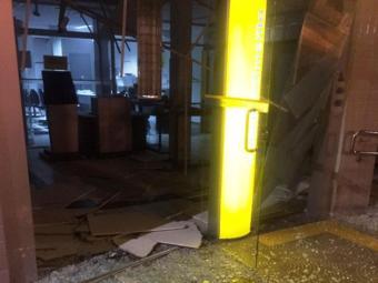 Homens armados explodiram a agencia do BB - Foto: Reprodução | Calila Notícias