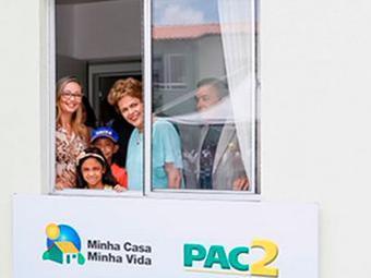 Dilma vai entregar mais 3,2 mil unidades do programa - Foto: Reprodução | Twitter