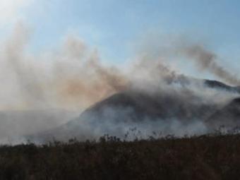 Chamas foram controladas em Mucugê - Foto: Reprodução | Portal da Chapada