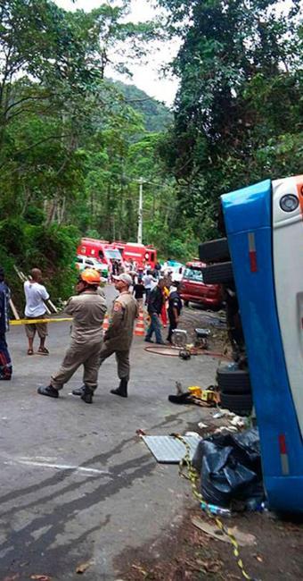 Acidente deixou 15 mortos - Foto: Reprodução