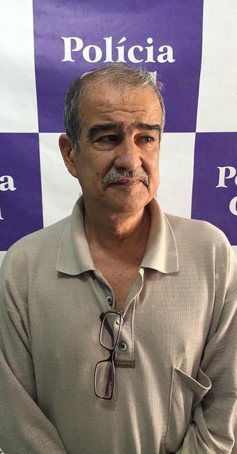 Ele é suspeito de ser o mandante da morte da esposa em 1996, no estado de Minas Gerais - Foto: Divulgação | Polícia Civil