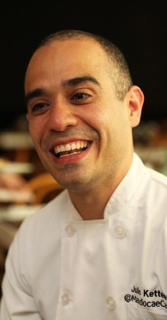 Julio Ketteley planeja voltar para casa e se dedicar à cozinha - Foto: Marco Aurélio Martins | Ag. A TARDE