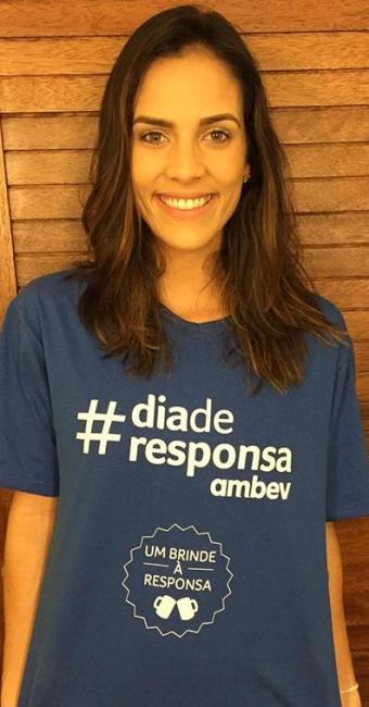 Ju Moraes usou as redes sociais para promover a companha - Foto: Divulgação