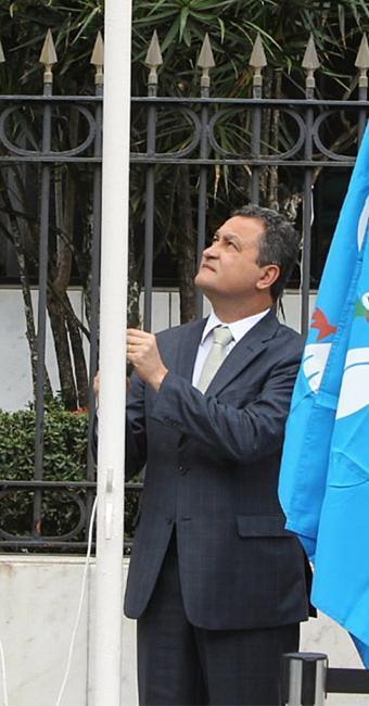 Rui participou da festa da Independência - Foto: Manu Dias l GOVBA
