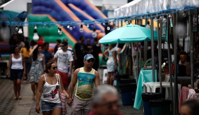 A Feira da Cidade acontece neste sábado, até as 21h, e no domingo, das 9h às 21h - Foto: Raul Spinassé | Ag. A TARDE