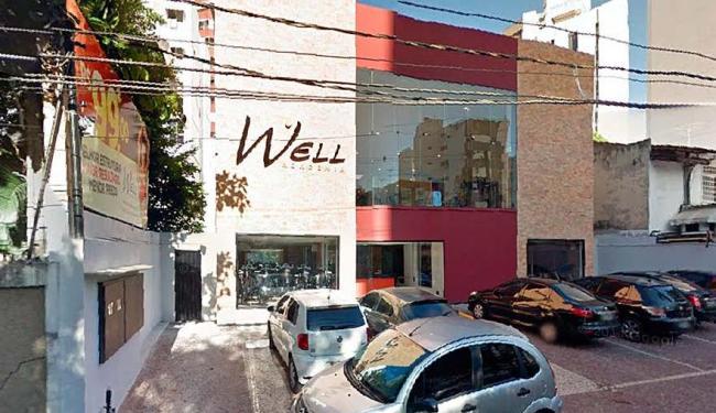 Bandidos invadiram a academia Well, no bairro da Pituba - Foto: Reprodução   Google Maps