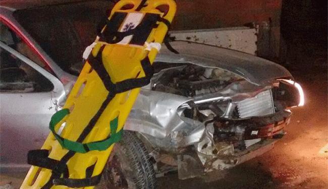 Veículo capotou na avenida Nóide Cerqueira, em Feira de Santana - Foto: Divulgação | PRF