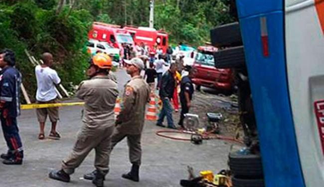 Corpo de Bombeiros realizou o atendimento às vítimas - Foto: Reprodução