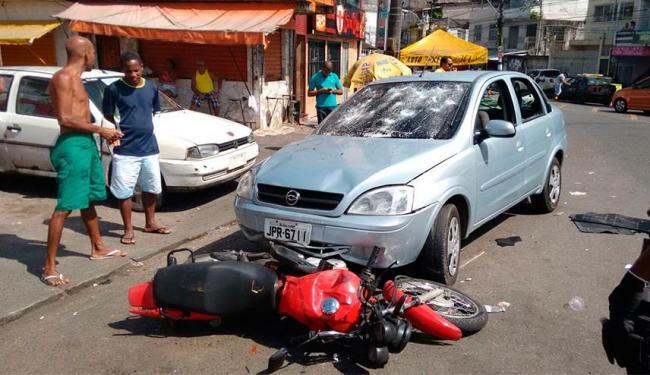 Motorista foi agredido após acidente na Fazenda Grande do Retiro - Foto: Edilson Lima | Ag. A TARDE