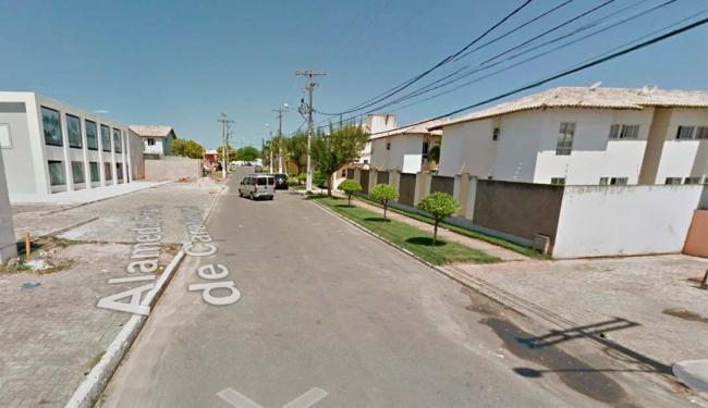 Rua onde está localizada a casa onde ocorreu o incidente - Foto: Reprodução | Google Maps