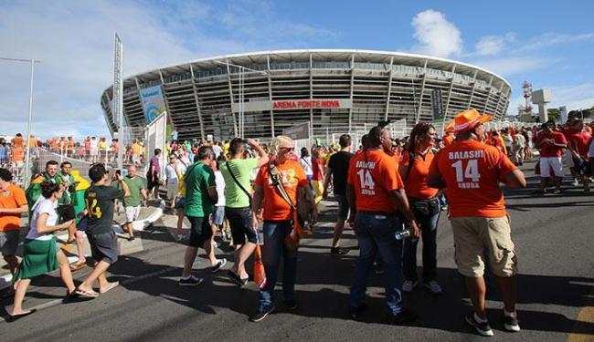 Ao contrário da Copa de 2014, na Olimpíada, haverá menos áreas fechadas - Foto: Carlos Casaes | Ag. A TARDE