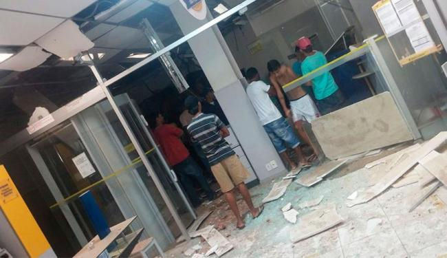 Moradores ouviram diversas explosões na cidade - Foto: Reprodução | Jeremoaba Agora