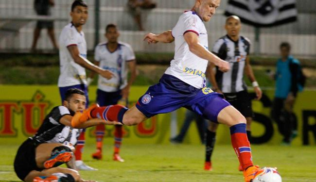O jogo contra o ABC, em Natal, foi o único sem sofrer gols - Foto: Nuno Guimarães | Frame | Folhapress