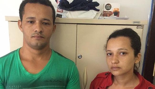 A dupla se apresentou à polícia na delegacia de Valença - Foto: Divulgação   Polícia Civil