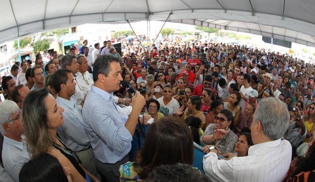Rui disse que investir na agricultura familiar gera mais empregos no campo e nas cidades - Foto: Manu Dias | GOVBA | Divulgação