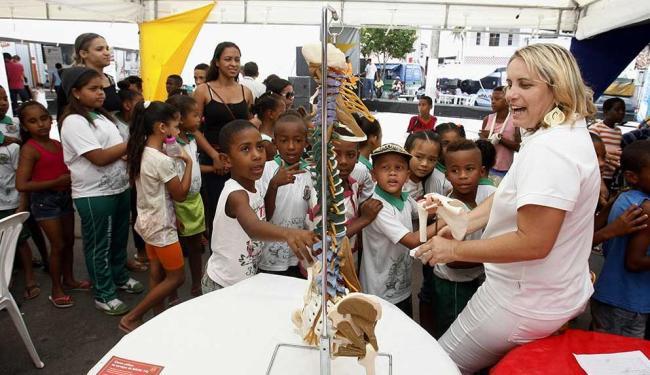 No próximo dia 22, a Base Comunitária de Segurança do bairro da Rua Nova, completa 1 ano - Foto: Luiz Tito   Ag. A TARDE