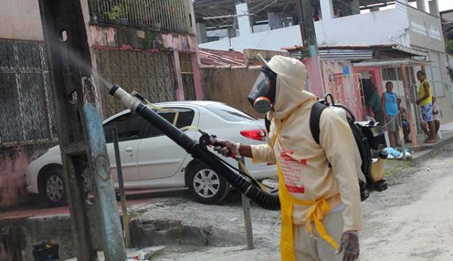 No bairro Caixa D'Água, agentes atuaram na rua Manoel Drummond em julho - Foto: Evilânia Sena   Agecom   15.7.2015