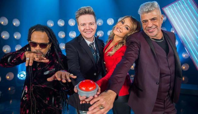 Carlinhos Brown, Michel Teló, Cláudia Leite e Lulu Santos: surpresas na nova temporada - Foto: João Miguel Júnior | TV Globo