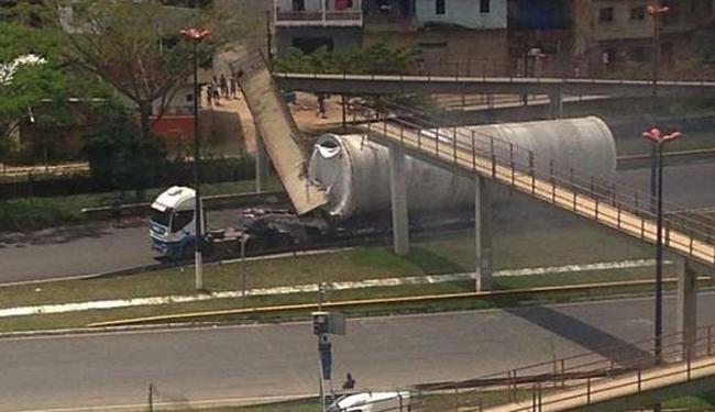 Ninguém ficou ferido - Foto: Blog do Pimenta