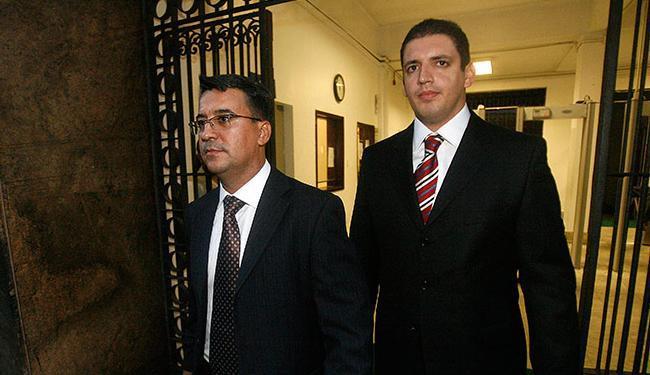 Pastor Fernando Aparecido e bispo Joel Miranda - Foto: Lunaé Parracho   Ag. A TARDE
