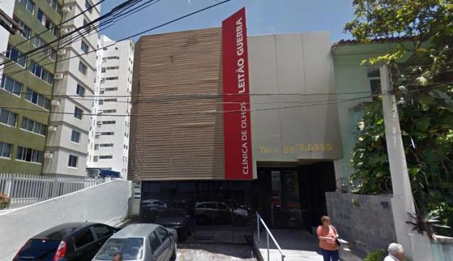 O homem arrombou a clínica durante a madrugada desta terça-feira, 1, para tentar o roubo - Foto: Reprodução | Google Street View