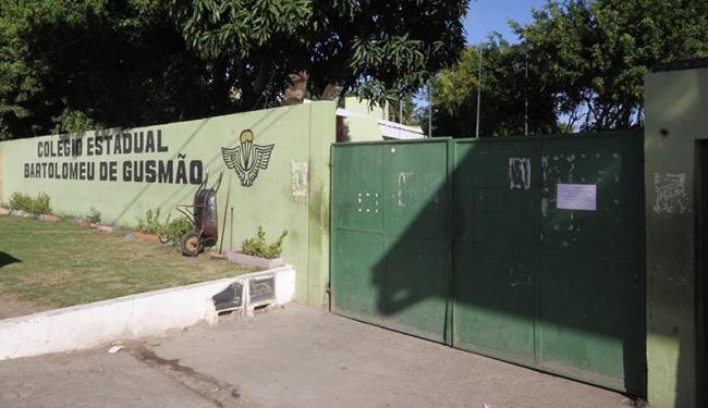 Colégio Estadual Bartolomeu de Gusmão foi um dos que não abriram - Foto: Diego Mascarenhas | Arquivo | Ag. A TARDE