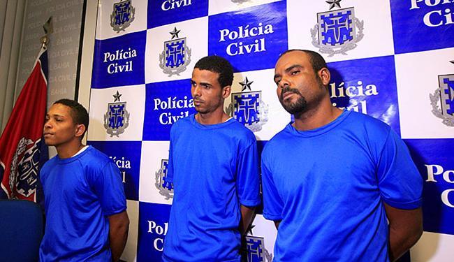 Da esquerda para a direita: Rodrigo, Edson e André - Foto: Adilton Venegeroles | Ag. A TARDE