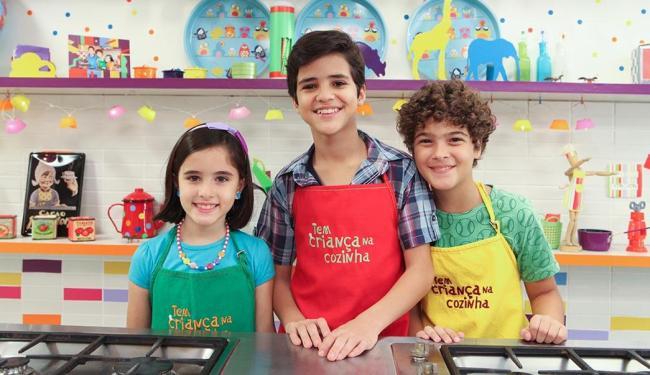 O canal Gloob estreia a quarta temporada de Tem Criança na Cozinha no dia 28 de setembro - Foto: Globo   Divulgação