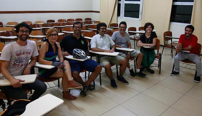 Organizadores da proposta se reuniram no campus de ADM da Ufba (Canela) - Foto: Fernando Amorim / Ag. A TARDE