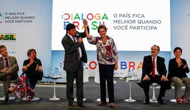 Dilma foi para o Dialoga Brasil em Teresina - Foto: Roberto Stuckert Filho | PR