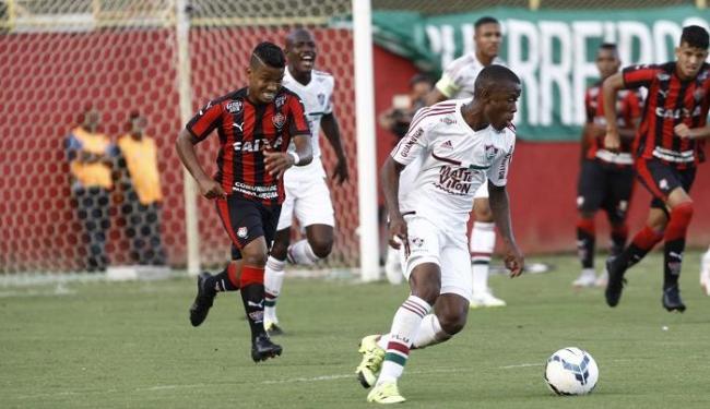 O primeiro tempo da partida foi equilibrado, enquanto na segunda etapa o Fluminense foi superior - Foto: Margarida Neide | Ag. A TARDE