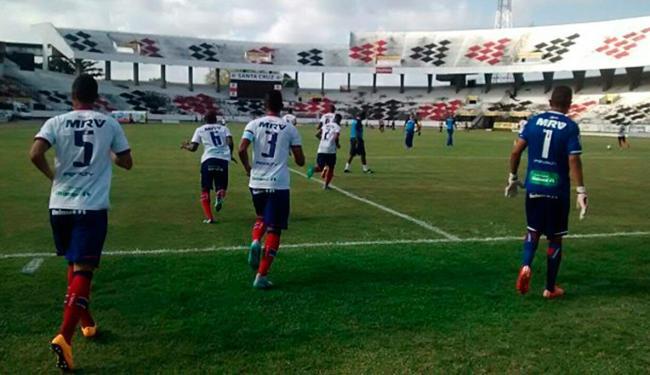 O jogo de volta será realizado na próxima quarta-feira, 30, em Salvador - Foto: Divulgação | E.C.Bahia