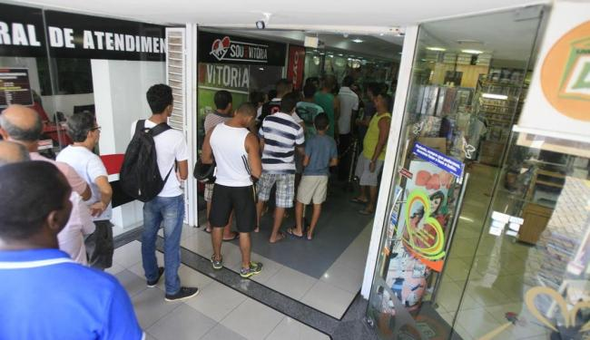 Na foto, Loja do Leão no Shopping Capemi - Foto: Fernando Amorim   Ag. A TARDE