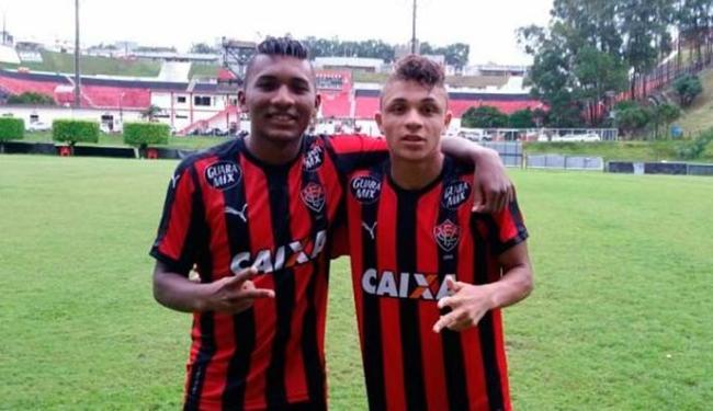 Eron e Geovane foram os convocados para o mundial sub-17 - Foto: EC Vitória | Site OFicial