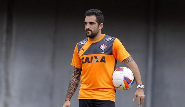 Escudero volta ao time titular do Rubro-negro diante do Botafogo - Foto: Joá Souza   Ag. A TARDE