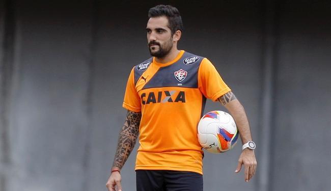 Escudero não se recuperou de dores musculares na coxa - Foto: Joá Souza   Ag. A TARDE