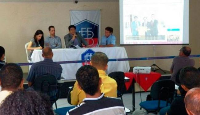 FBF lançou o campeonato feminino nesta quarta-feira - Foto: Divulgação | FBF