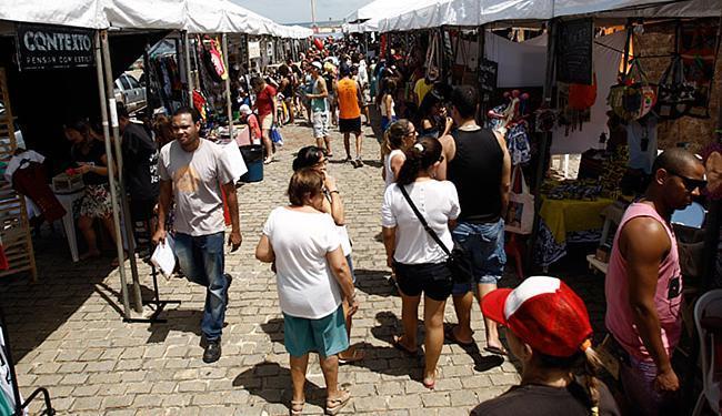 Público lotou a Feira da Cidade na orla de Salvador - Foto: Raul Spinassé l Ag. A TARDE