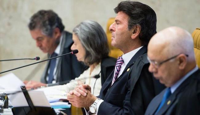 Ministros do STF julgam ação sobre financiamento privado de campanhas nas eleições - Foto: Antônio Cruz/Agência Brasil