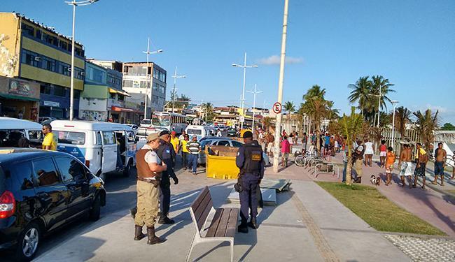 Semop, Polícia Militar e Guarda Civil fazem fiscalização em praias - Foto: Fernando Vivas| Ag. A TARDE