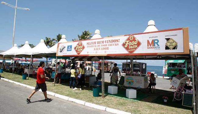 O Food Park Salvador acontece, novamente, no espaço do antigo Clube Português, na Pituba - Foto: Fernando Amorim | Ag. A TARDE