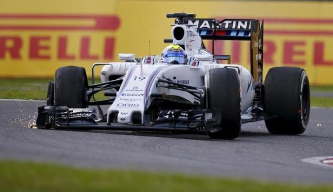 Com problemas durante a corrida, Massa terminou apenas na 17º posição - Foto: Thomas Peter | Agência Reuters