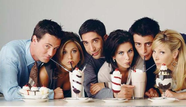 Friends foi a número 1 da lista - Foto: Divulgação