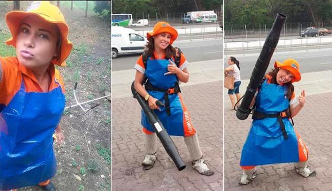 Gari Gata já está de volta à empresa de lixo do Rio de Janeiro - Foto: Reprodução | Instagram